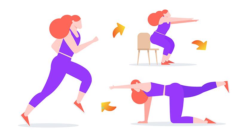 Télétravail : un entraînement facile à faire en 15 minutes