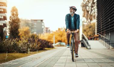Les avantages du transport actif vers le travail