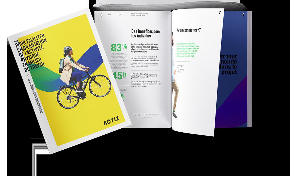 Un guide complet et gratuit pour implanter l'activité physique en milieu de travail